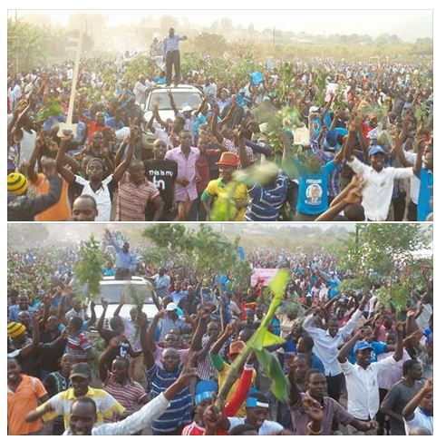 Ibanda Rally P1 29.01.2016 FDC