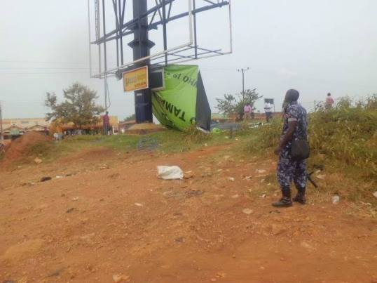 Kagadi Police Action to Banner