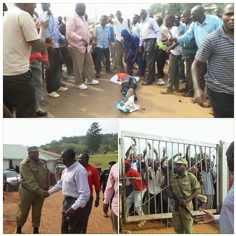Kiboga Accident and Save - Kizza Besigye
