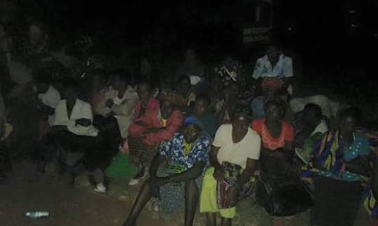 Kihihi Police Station Stranded after NRM Rally Kanungu 060116