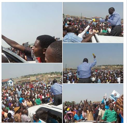 Kiruhura District Rushere FDC Campaign 29.01.2016
