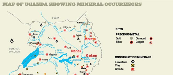Mineral Occurences Uganda