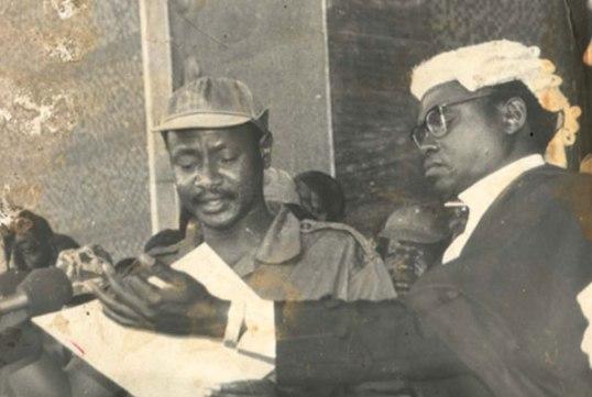 Museveni 1986 Uganda