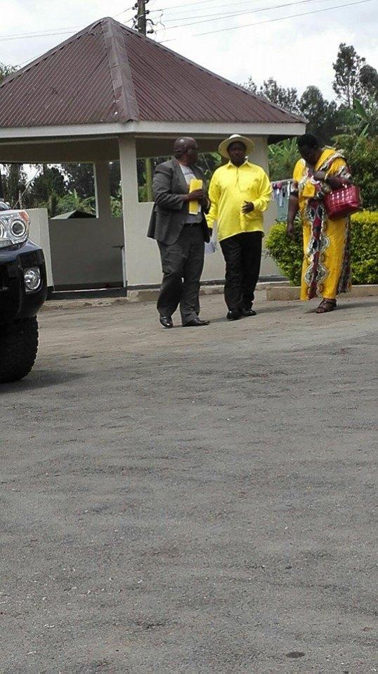 Museveni Kalibi Kabale 05.01.2016