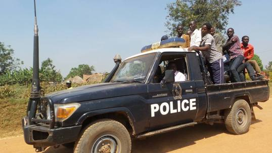 Nakaseke Police 04.01.2015 P1 FDC