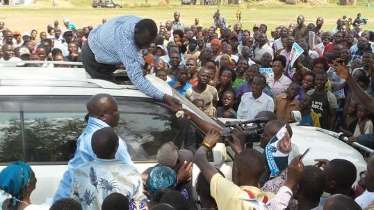 Nakaseke Police 04.01.2015 P3 FDC