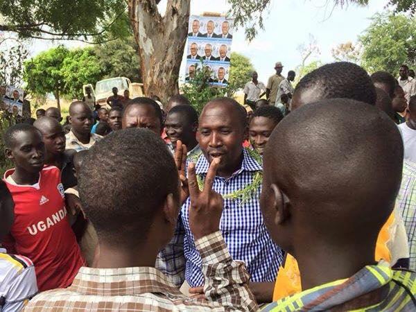 Nandala Mafabi in Katakwi 11.01.16