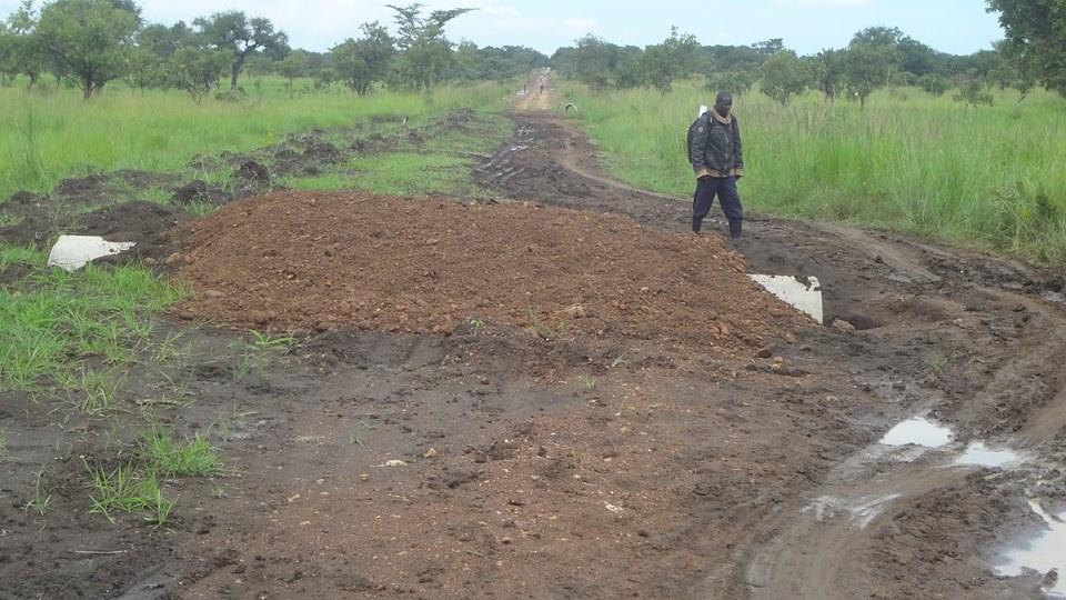 Ongongonja road 28.10.2015