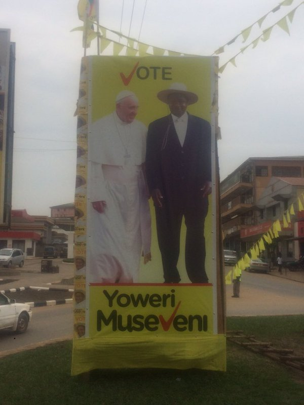 Papal Poster NRM Campaign
