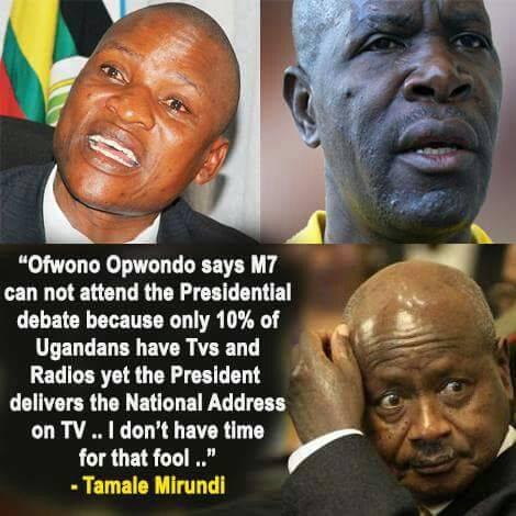 Tamale Mirundi Quote of the day TV Debate 2016 (2)