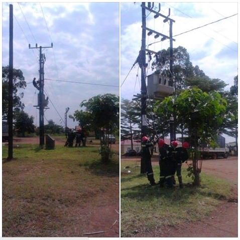 Transformer Electricity Namayingo 2015