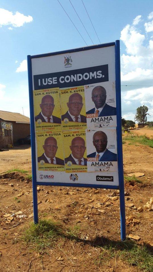 Uganda Campaign Poster 2016 Funny