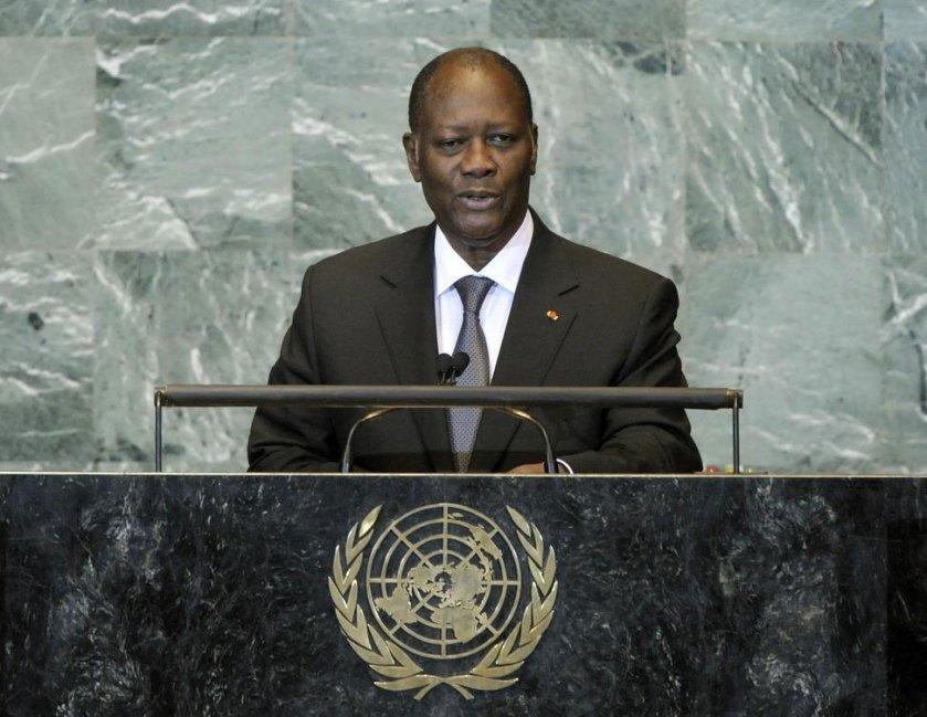 UN Ouattara Ivory Coast