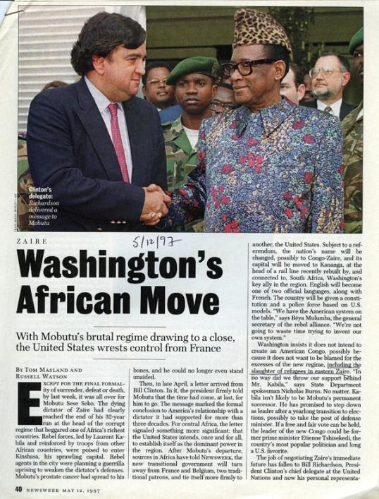 US Magazine Zaire LR
