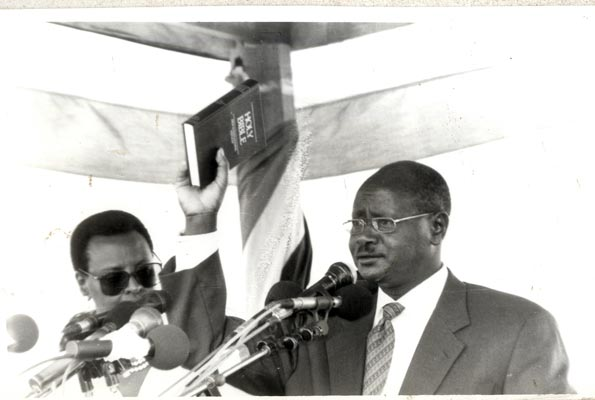 1996 Museveni Sworn in Ceremony