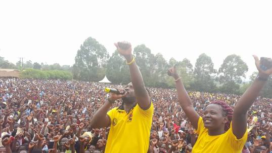 Bebe Cool Campaign Rally