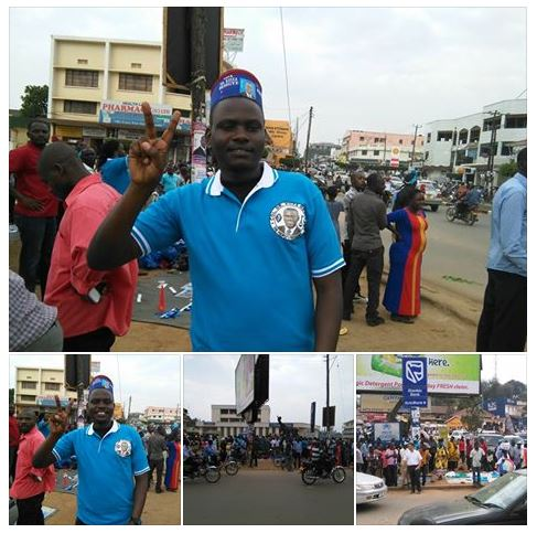 Before Mbarara Rally FDC 02.02.2016