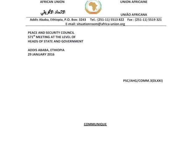 Burundi PSC JC P1 06022016