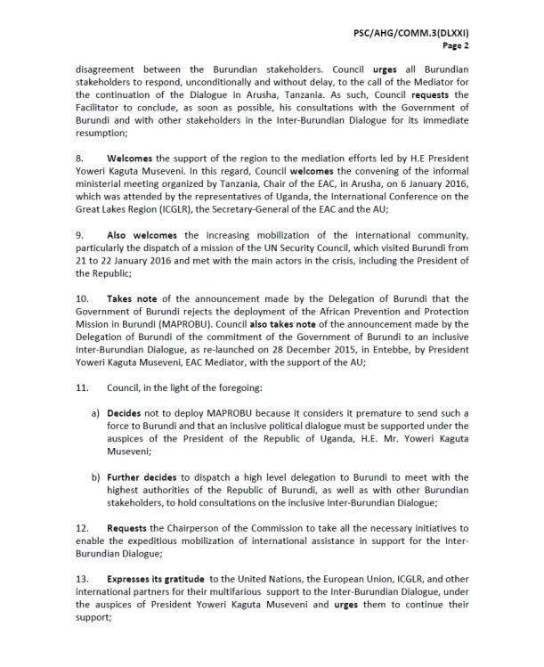 Burundi PSC JC P3 06022016