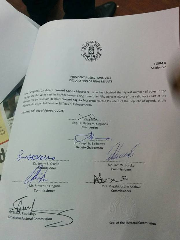 Declartion President M7 20.02.2015