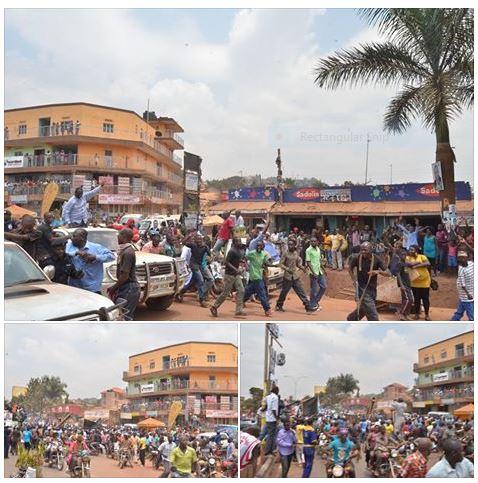 Entebbe Road Kampala 11.02.2016 FDC Convoy