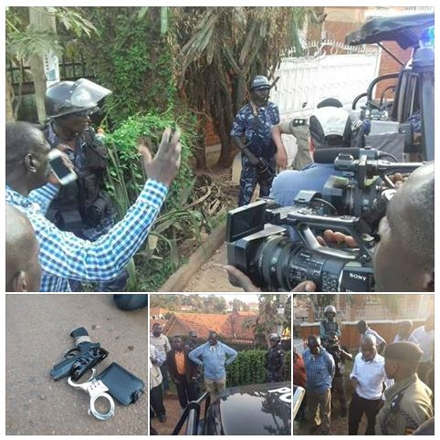 FDC 18.02.2016 Besigye Arrested