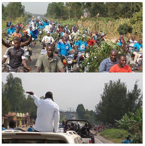 FDC Campaign Convoy 02.02.2016 Into Mbarara