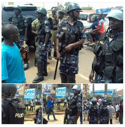 FDC HQ 19.02.2016 Police Siege