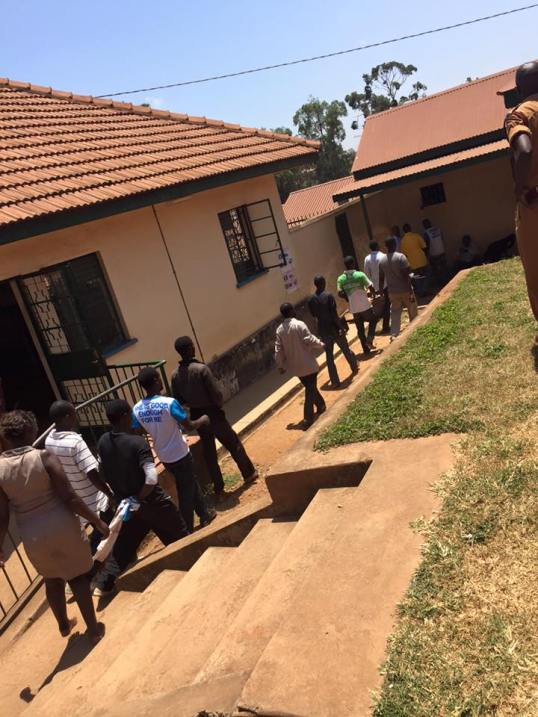 FDC Supporters Detained Kampala 17.02.2016. P2