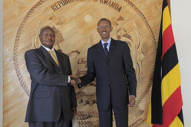 Kagame Museveni