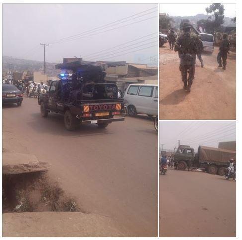Kampala 12.02.2016 Police Army