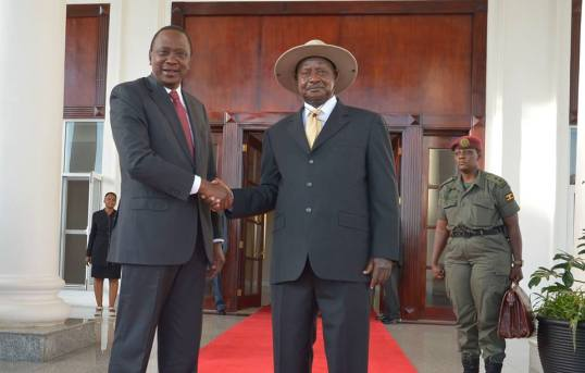 Kenyatta Museveni
