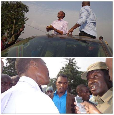 Kisoro FDC 01.02.2016 Muntu Rally Police