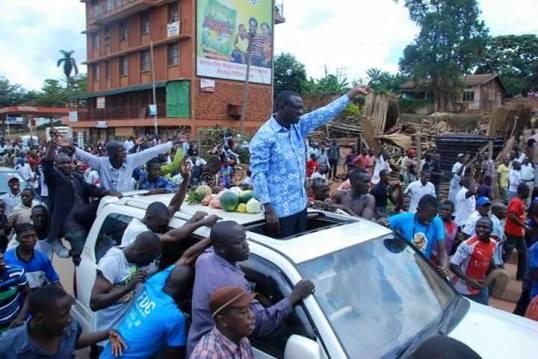 Kizza Besigye 28.02.2016