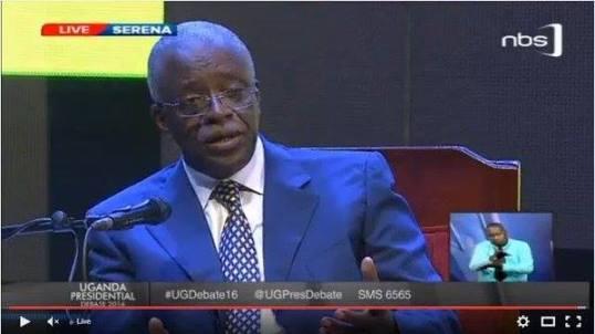Mbabazi Debate16