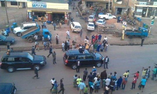 Museveni in Kayunga 08.02.2016