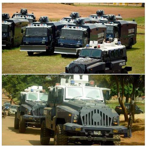 New Equipment for UG Police 23.02.2016