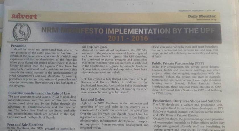 NRM Police 17.02.2016