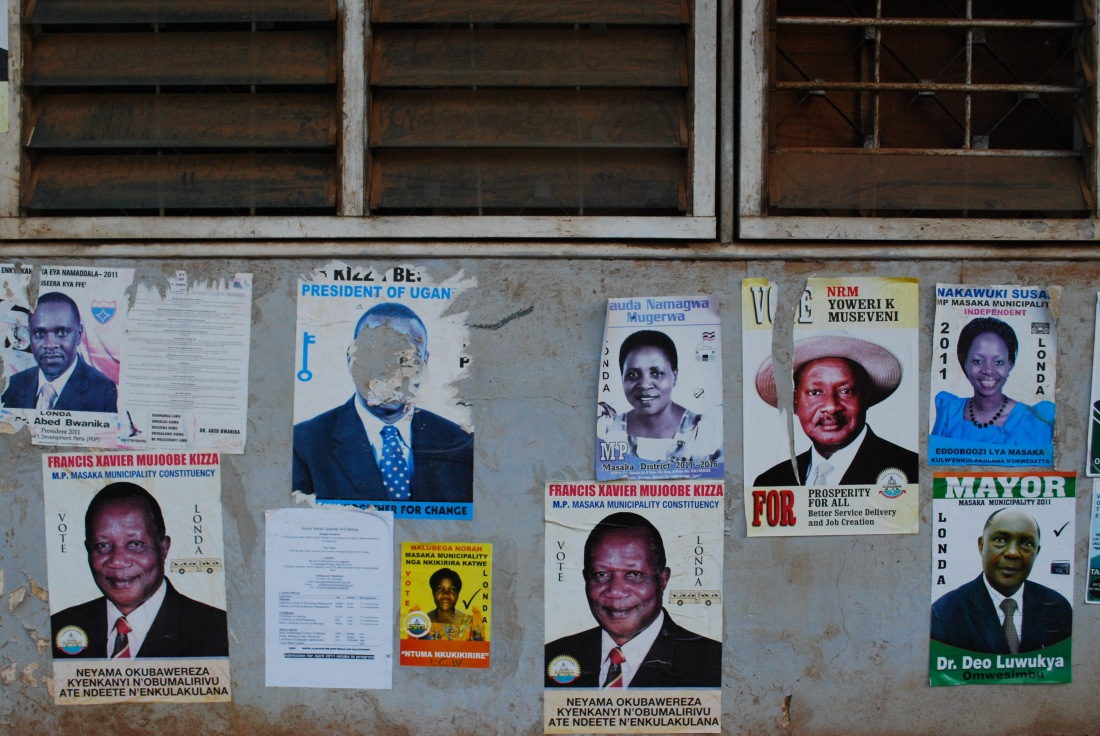 Old Campaign Posters Uganda