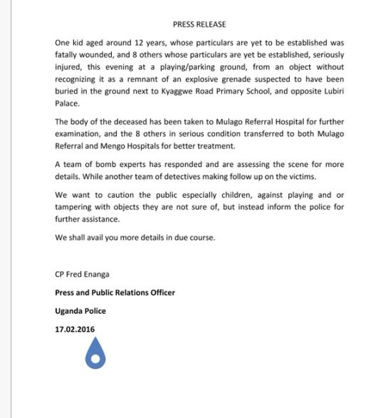 Press Release UPF 17.02.2016
