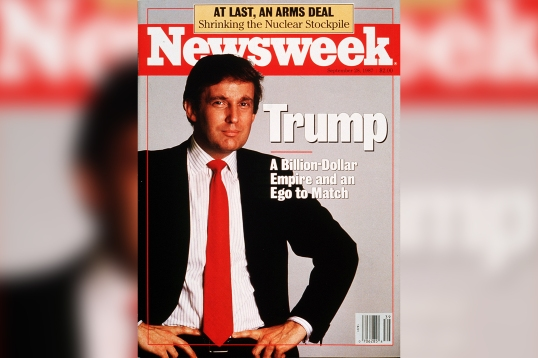 Trump Old Newsweek