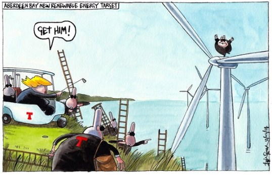 Trump Turbines Aberdeen