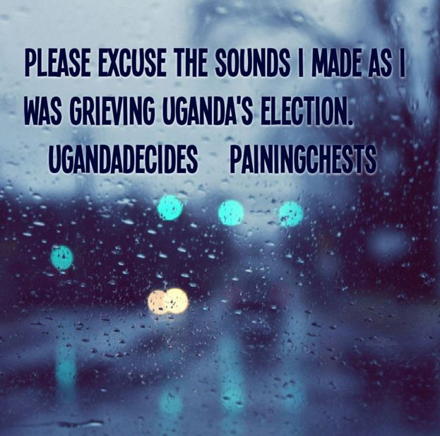 Ugandan Election 2016 Grieving