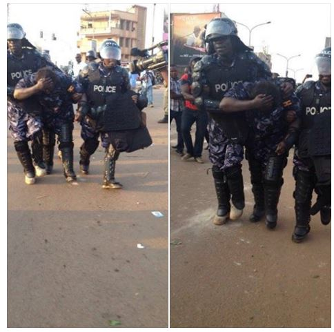 Wandegye Kampala 15.02.2016 FDC