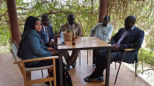 Besigye Legal Team 21.03.2016