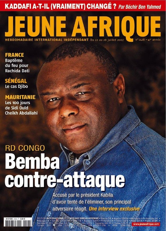 Jeune African Bembe Cover