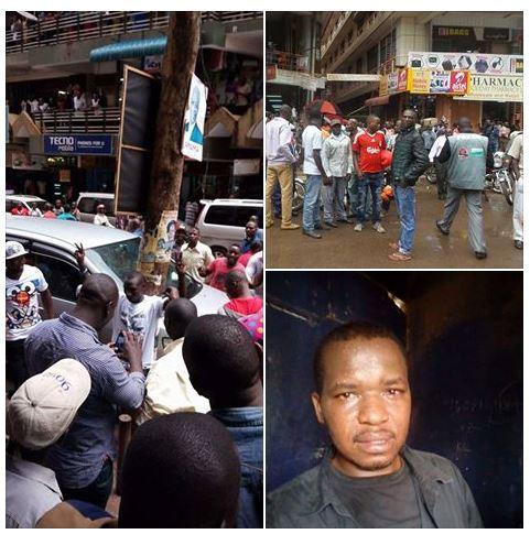 Journalist Kampala 31.03.2016