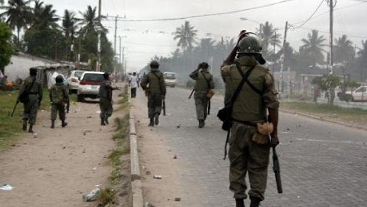 Mozambique soldiers vs Renamo