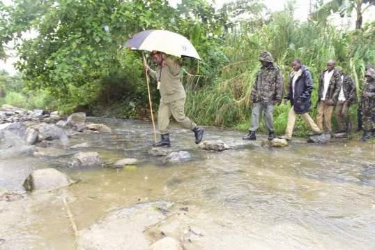 Museveni Bundibugyo 28.03.2016 P2 River