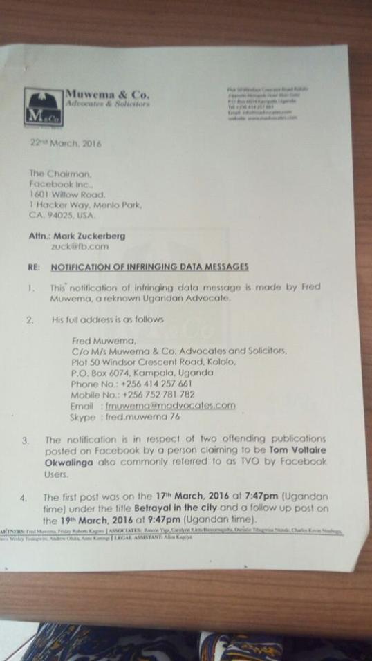 Muwema & Co 22.03. Zuker Letter P1